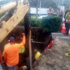 Construction Worker Rescued from Hole