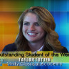 SCVTV Outstanding Student of the Week: Taylor Totten (Video)
