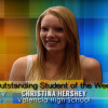 SCVTV Outstanding Student of the Week: Christina Hershey (Video)