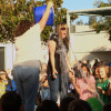 Charles Helmers Assistant Principal Accepts ALS Ice Bucket Challenge