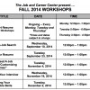 COC Career Center Hosting Free Fall Workshops