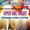 Open Call for Open Mic Night at COC Arts Center