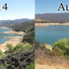 Castaic Lake is Shrinking