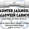 SCV Deputies Hosting Haunted Jailhouse Sunday