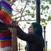 Yarn Bombers Descend on Old Town Newhall