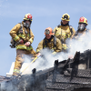 Landscapers Spark Fire; Spreads to Canyon Country Condos