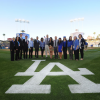 CSUN Physical Therapy Scholars Honored at Dodger Game