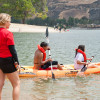 CSUN Institute Treats At-risk Teens to Castaic Lake Outing
