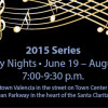 Lineup Announced for Friday Jazz Series at Town Center
