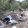 Homeless Camp Cleanup Removes Thousands of Pounds of Trash