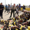 Swords to Ploughshares: 3,400 Guns Melted Into Rebar