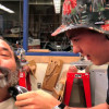 Saugus Teacher Gives Up Beard for New Woodworking Machine (Video)