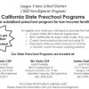 Saugus Schools Offering Subsidized Preschool Programs