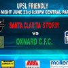 Santa Clarita Storm to Play Against Oxnard City Football Club
