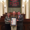 Lentini Honored with Veteran of the Year Award