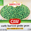 C&W Petite Peas Sold at Walmart Recalled