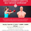 Sept. 12: Assemblyman Hosting Free Self-Defense Class for Women