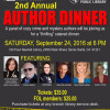 Sept. 24: Library Friends Host Crime, Mystery Authors Panel Dinner