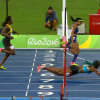 Bahamian Dives to Finish Ahead of Felix in 400m