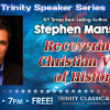 Oct. 10: Christian History Author to Speak at Trinity School