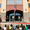 SCVi Charter Dedicates New Flag Courtyard
