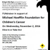 California Pizza Kitchen Hosts Michael Hoefflin Foundation Fundraiser