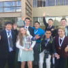 Academic Decathletes Shine at Regional Competition
