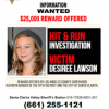 Reward Increased for Information on Fatal Canyon Country Hit-and-Run