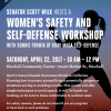 April 22: Women's Safety, Self-Defense Workshop