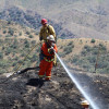 LACoFD Responds to Brush Fire North of Sand Canyon