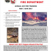 LACoFD Wildland Fire Drills Continue Through June 16