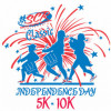 July 4: Independence Day Classic 5K, 10K Run-Walk