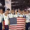 Fisher, Team USA in Maccabiah Opening Ceremonies