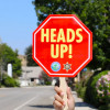 City, Sheriff's Station Launch 'Heads Up' Safety Campaign