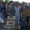 Community Members Hold Vigil for Charlottesville