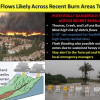 National Weather Service Warns Residents of Debris Flows as Storm Approaches