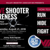Aug. 21: Active Shooter Awareness Training at VIA Luncheon