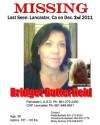 Ex-SCV Resident Missing En Route to Lancaster