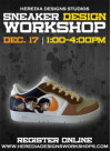 Dec. 17: Design Your Own Sneakers at Studio Workshop