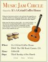 3rd Sunday: Java Jam Circle at Castaic Coffee House