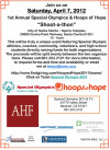 April 7: Basketball Shoot-A-Thon, Laker Girls for SCV Special Olympics