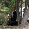Driver Injured as He Knocks Out Power in Saugus