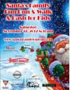 Nov. 17: Celebrate Santa's Arrival with Fun Run-Walk, Toy Drive