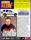 Amber Alert Issued in San Jose