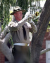 LASD Honors Officer Who Was Shot to Death in Newhall – in 1909