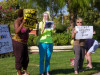 Demonstrators Turn Out for Trayvon Martin & More