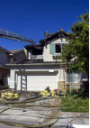 No Injuries Reported in Valencia House Fire