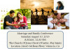 Aug. 10: LDS Valencia Church Hosts Family, Marriage Conference