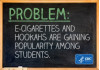 E-Cigs, Hookahs Gaining Favor Among Youth, Per CDC's Mortality Report
