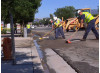 Water Leak Plugs Traffic in Valencia; Street to Reopen Thursday Night